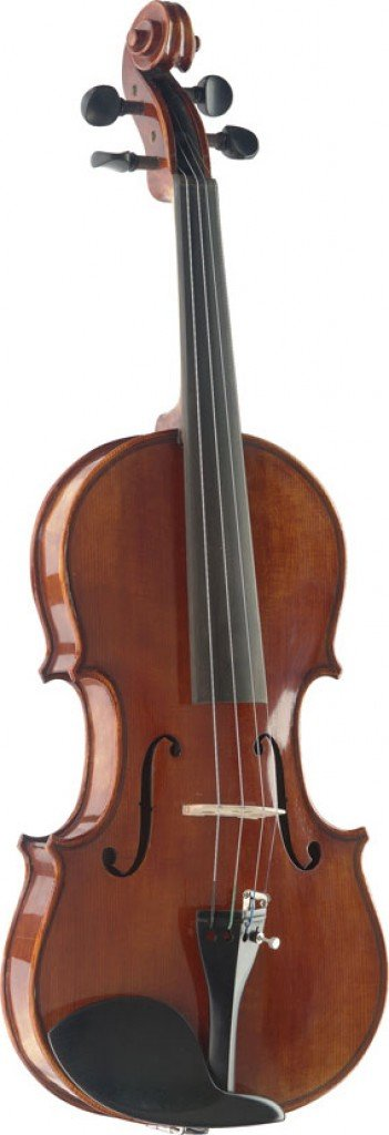 STAGG VN-4/4 HG HAND-VARNISHED SOLID FLAMED MAPLE VIOLIN W/DELUXE SOFT-CASE 4/4 SIZE