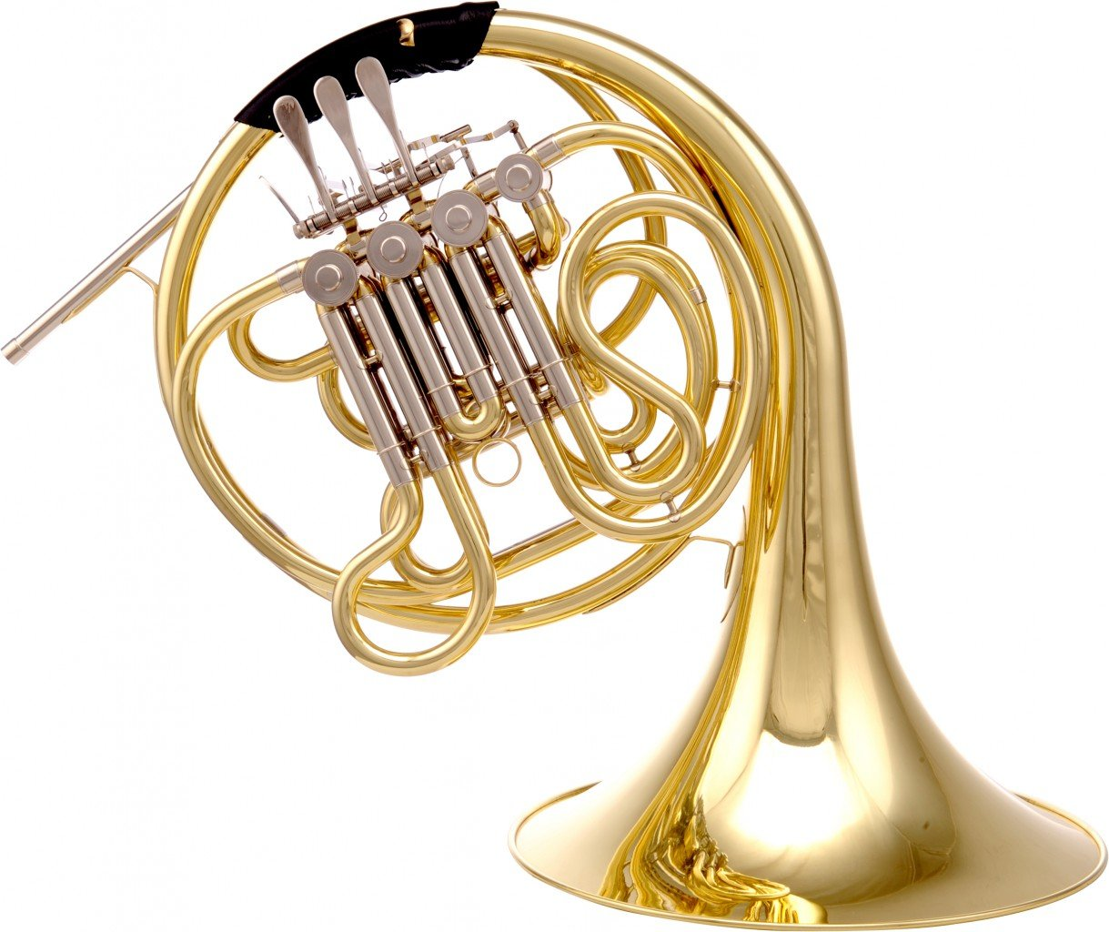 LEVANTE LV-HR4525 F/Bb DOUBLE FRENCH HORN 4 ROTARY VALVES W/CASE