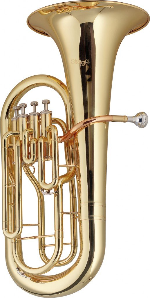 STAGG WS-EP245 Bb EUPHONIUM 4 PISTON VALVES W/CASE