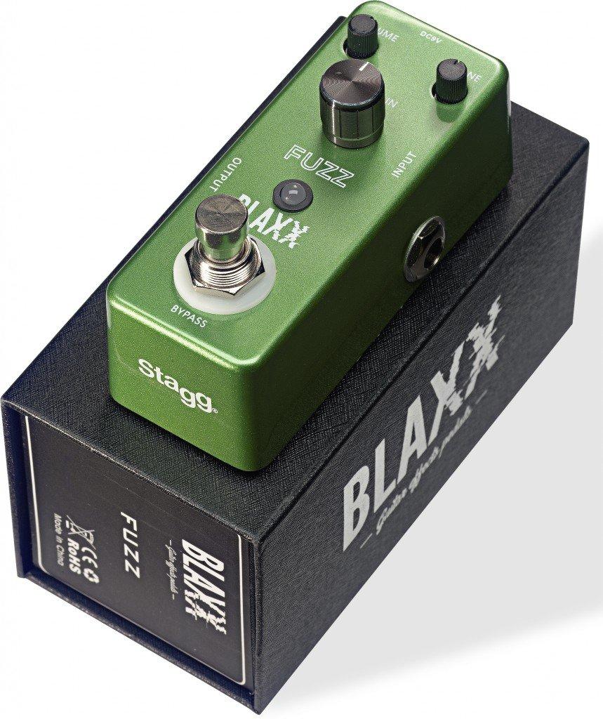 BLAXX BX-FUZZ MINI PEDAL FUZZ TRUE BYPASS