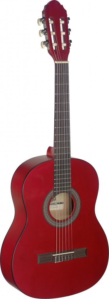 STAGG C430 M RED CLASSICAL GUITAR 3/4 SIZE RED