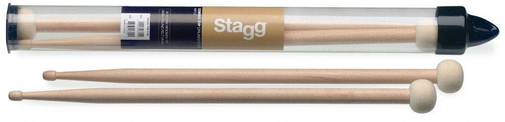 Stagg Sm5a Tim F30 Combo Tip Drumsticks Round Felt 5a Maple 882030237041