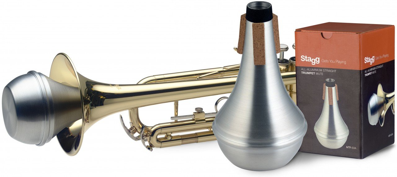 STAGG MTR-S3A TRUMPET STRAIGHT MUTE ALUMINUM