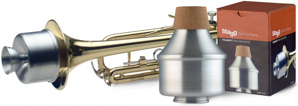 STAGG MTR-W3A TRUMPET WAH-WAH MUTE ALUMINUM