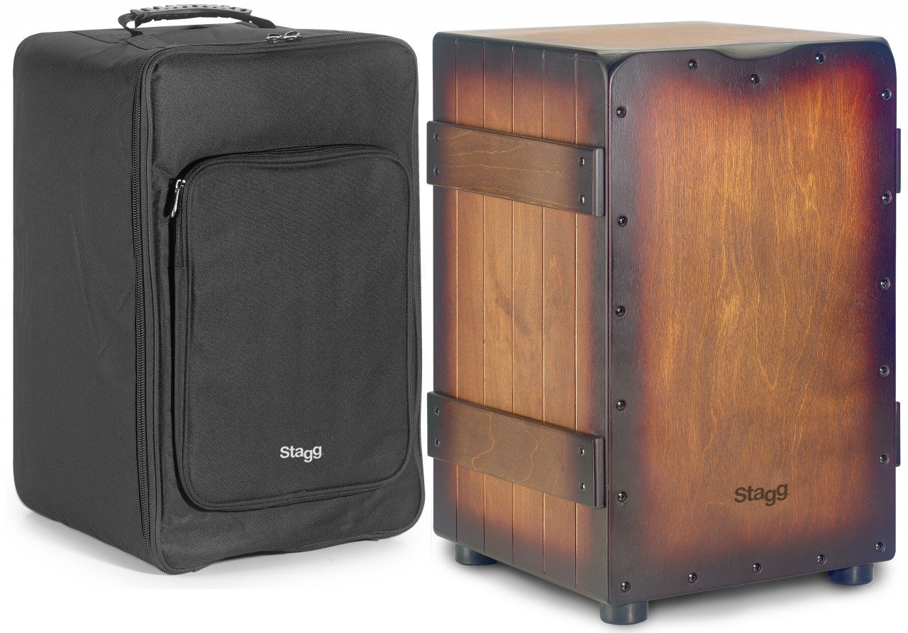 STAGG CAJ-CRATE-SBB CRATE CAJON BROWN SUNBURST