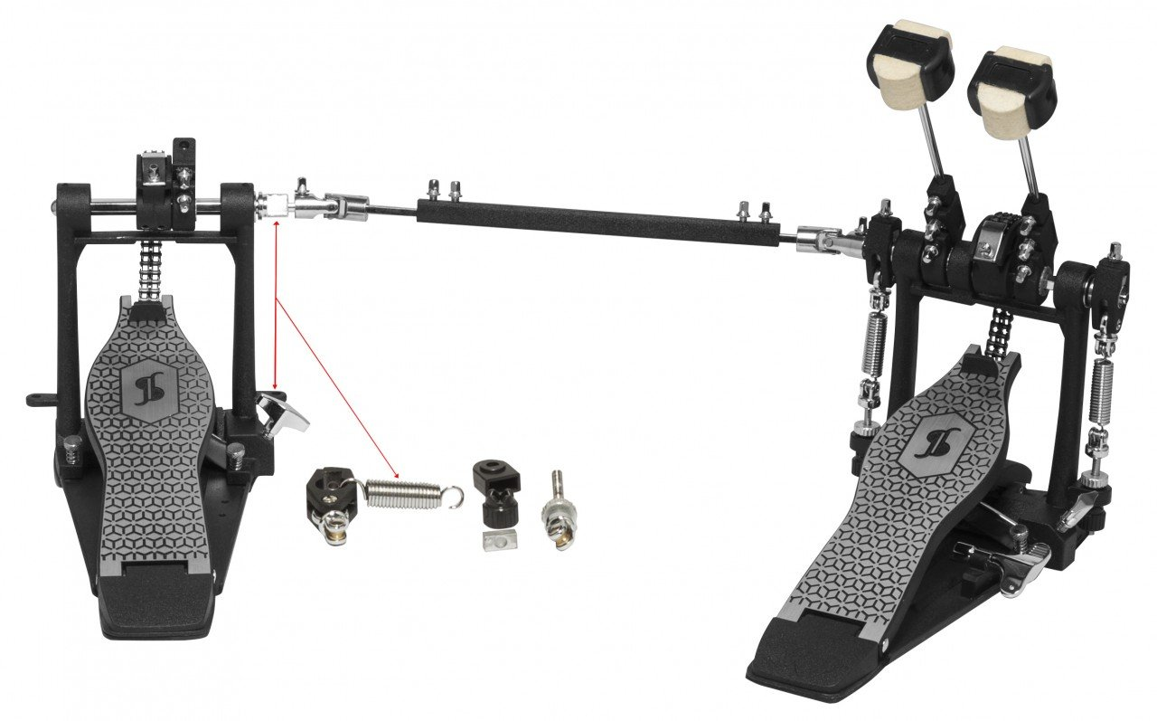 STAGG PPD-52 DOUBLE BASS DRUM PEDAL W/DOUBLE CHAIN