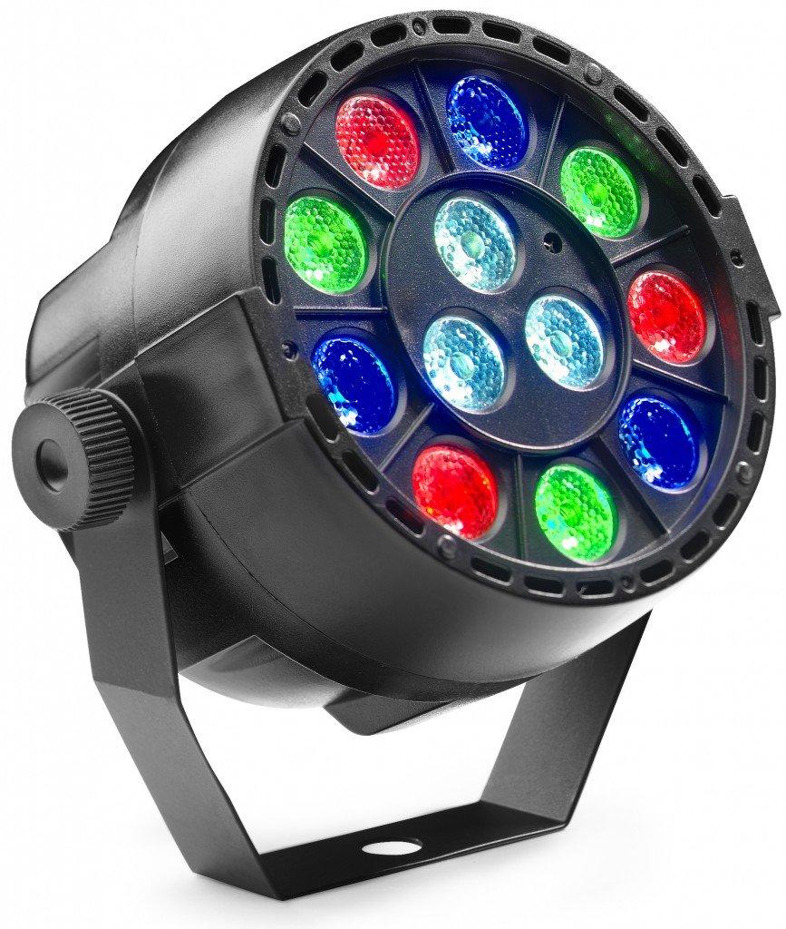 STAGG SLI-BAT XS-1 ECOPAR XS BATTERY POWERED LIGHT 12x1W RGBW