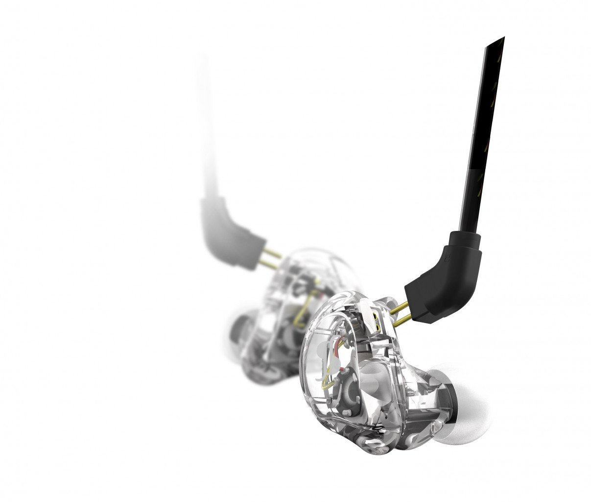 STAGG SPM-235 TR HIGH-RESOLUTION, SOUND-ISOLATING IN-EAR MONITOR, TRANSPARENT