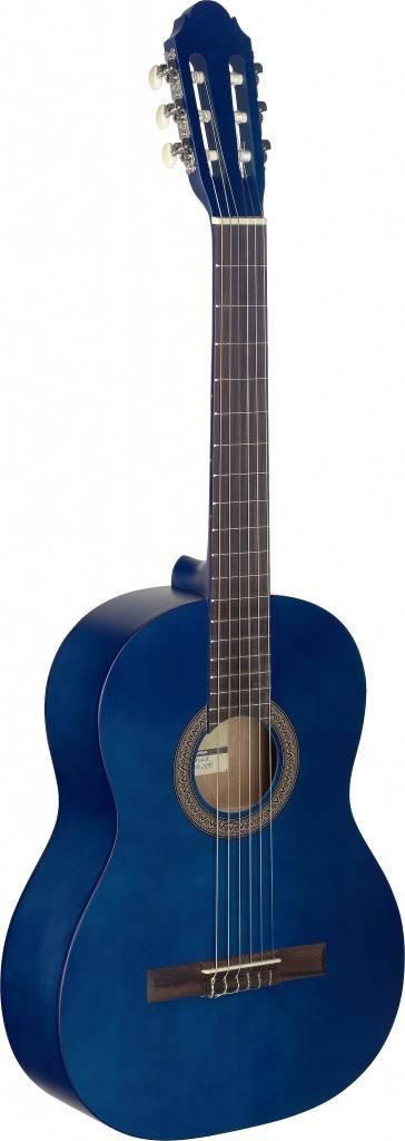 STAGG C440 M BLU CLASSICAL GUITAR 4/4 SIZE BLUE