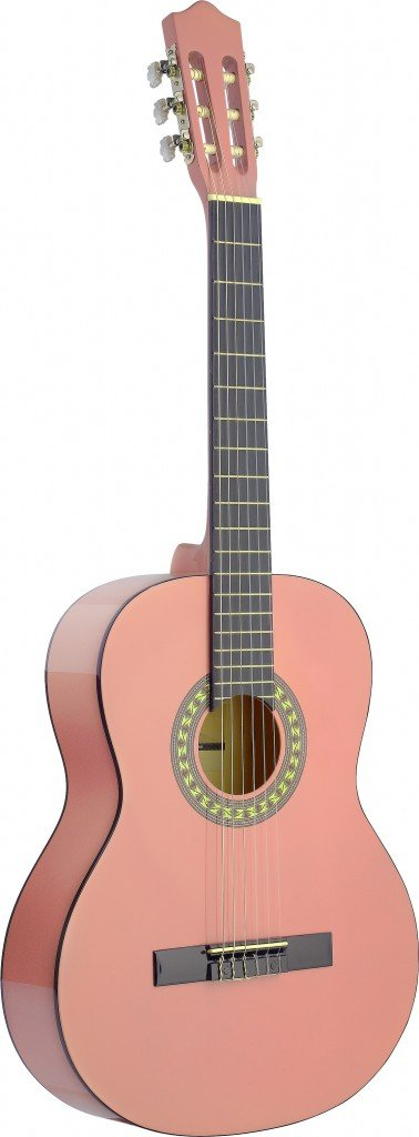 STAGG C542 PK CLASSICAL GUITAR 4/4 SIZE PINK
