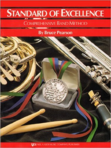 BK:STANDARD OF EXCELLENCE ALTO SAX BOOK 1