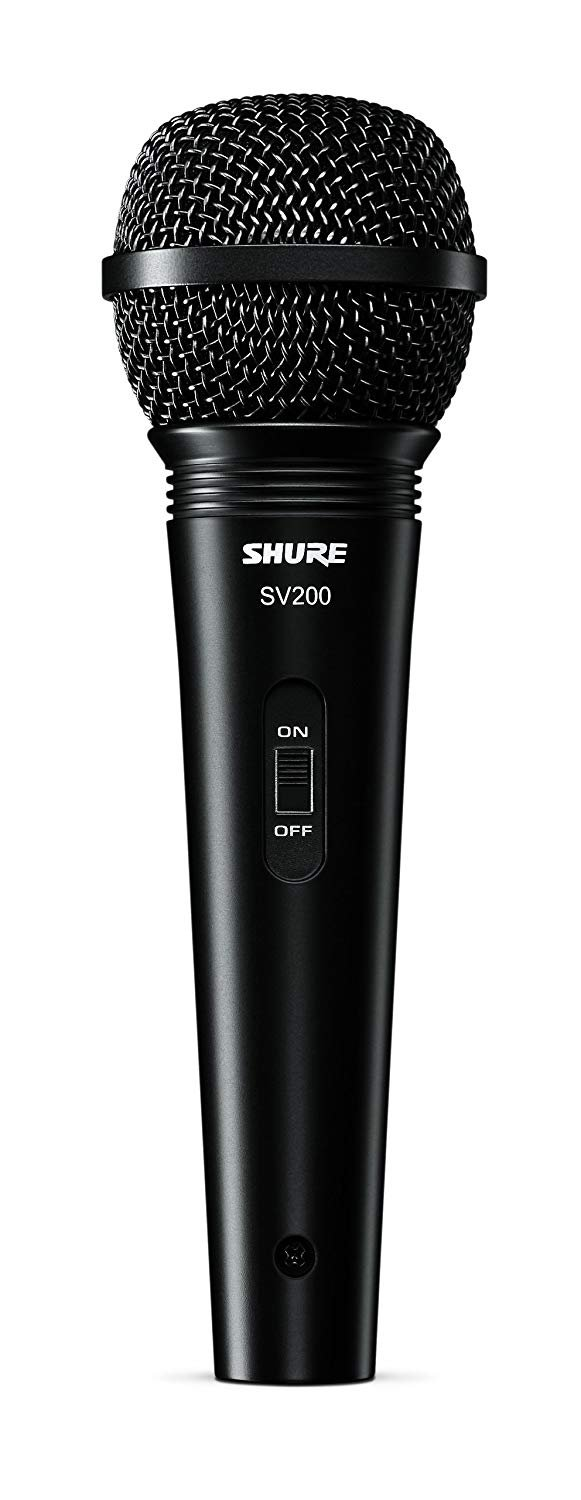SHURE SV200 MICROPHONE DYNAMIC CARDIOD