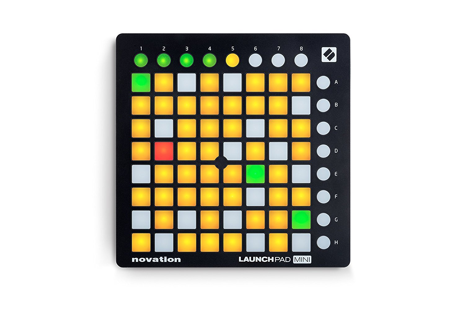 NOVATION LAUNCHPAD MINI MK2 COMPACT USB GRID CONTROLLER