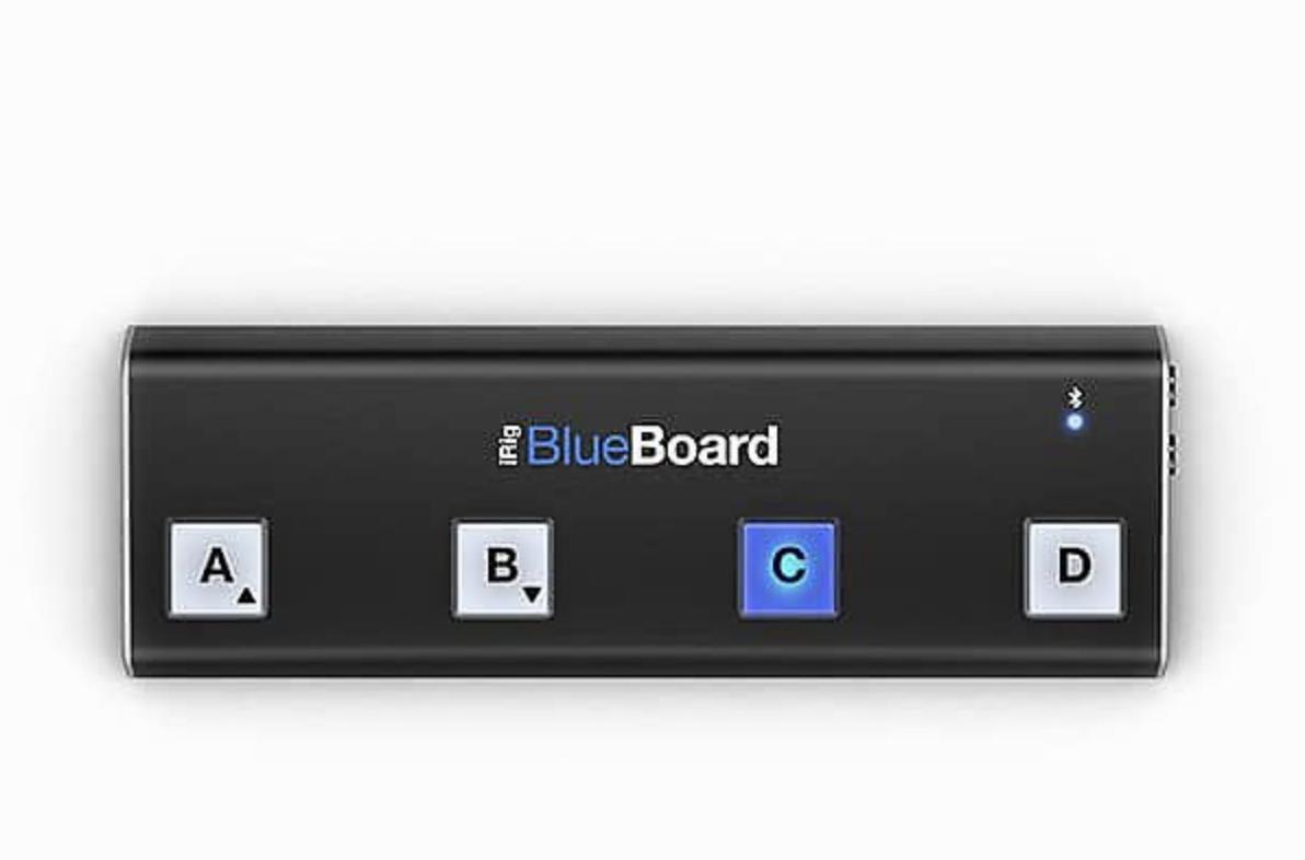 IK MULTIMEDIA IRIG BLUEBOARD BLUETOOTH MIDI PEDAL BOARD