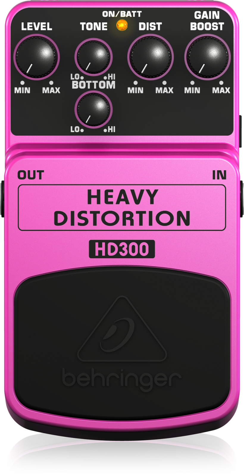 BEHRINGER PEDAL HD300 HEAVY DISTORTION