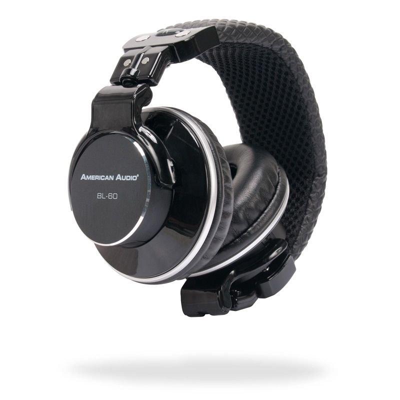 AMERICAN AUDIO BL60 PROFESSIONAL ON EAR HEADPHONES