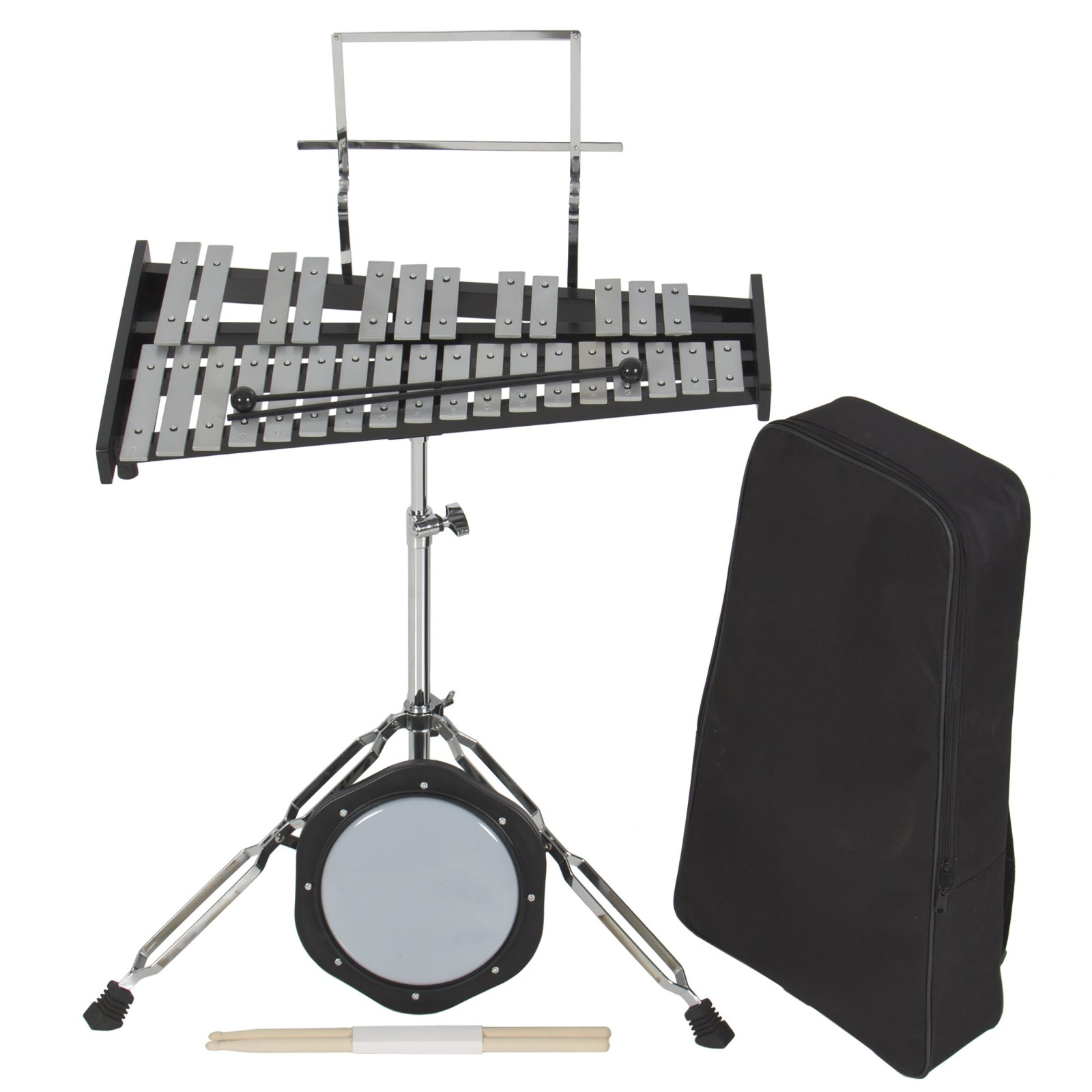RENT TO OWN BAND PERCUSSION KIT W/WHEELS