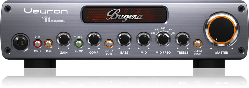 BUGERA BV100M VEYRON MOSFET BASS AMPLIFIER HEAD 2000 WATTS