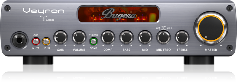 BUGERA BV1001T VEYRON TUBE BASS AMPLIFIER HEAD 2000 WATTS