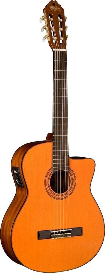 WASHBURN C5CE ACOUSTIC-ELECTRIC CLASSICAL GUITAR