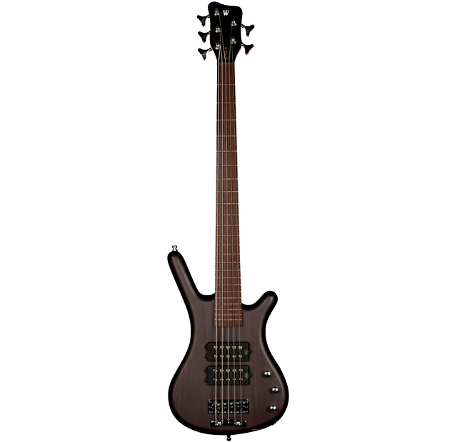 WARWICK ROCKBASS CORVETTE $$ 5 STRING BASS GUITAR NIRVANA BLACK OIL