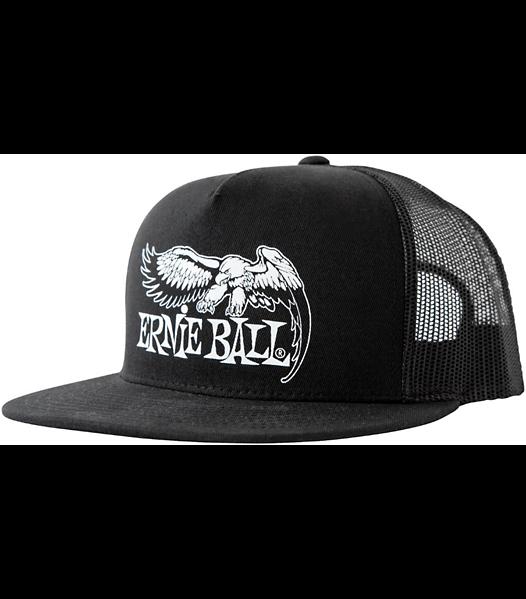 ERNIE BALL P04158 THE CLASSICS SNAPBACK HAT BLACK