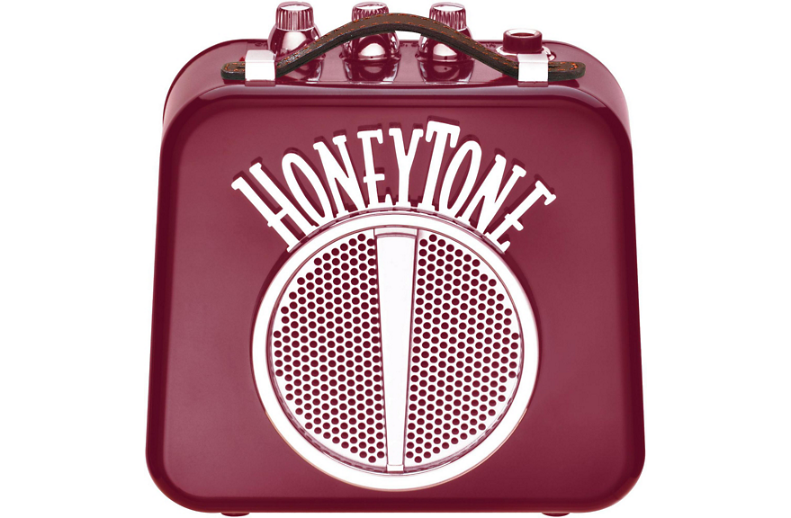 DANELECTRO HONEYTONE N10B MINI AMP BATTERY OPERATED BURGUNDY