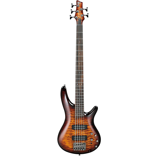 IBANEZ SR405EQMDEB SR STANDARD 5 STRING ELECTRIC BASS - DRAGON EYE BURST
