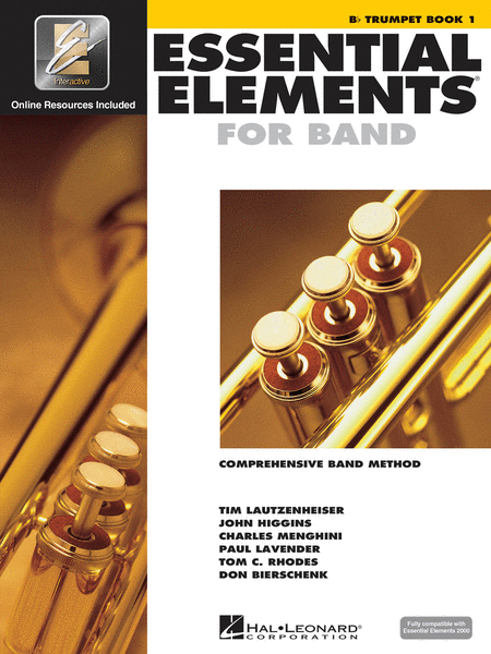 BK:ESSENTIAL ELEMENTS FOR BAND TRUMPET BOOK 1 W/ONLINE RESOURCES (HL00862575)