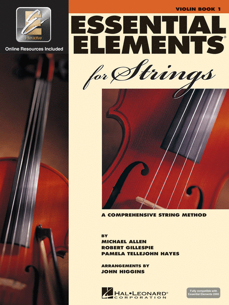 BK:ESSENTIAL ELEMENTS FOR STRINGS VIOLIN BOOK 1 W/ONLINE RESOURCES (HL00868049)