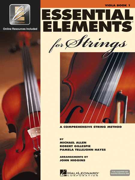 BK:ESSENTIAL ELEMENTS FOR STRINGS VIOLA BOOK 1 W/ONLINE RESOURCES (HL00868050)