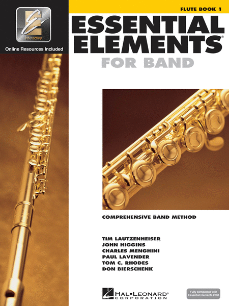 BK:ESSENTIAL ELEMENTS FOR BAND FLUTE BOOK 1 W/ONLINE RESOURCES (HL00862566)