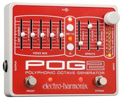 ELECTRO-HARMONIX PEDAL POG2 POLYPHONIC OCTAVE GENERATOR