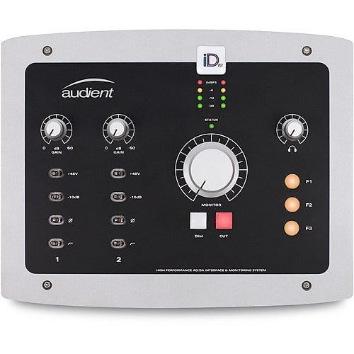 Audient Id22 2 Channel Usb2 Interface And Monitoring