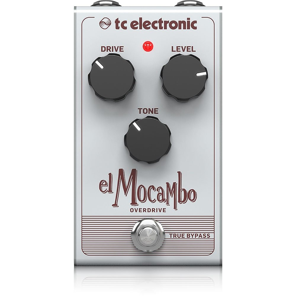 TC Electronic Classic Tube Overdrive Pedal with Intuitive 3-Knob Interface for Essential Blues Rock Tones