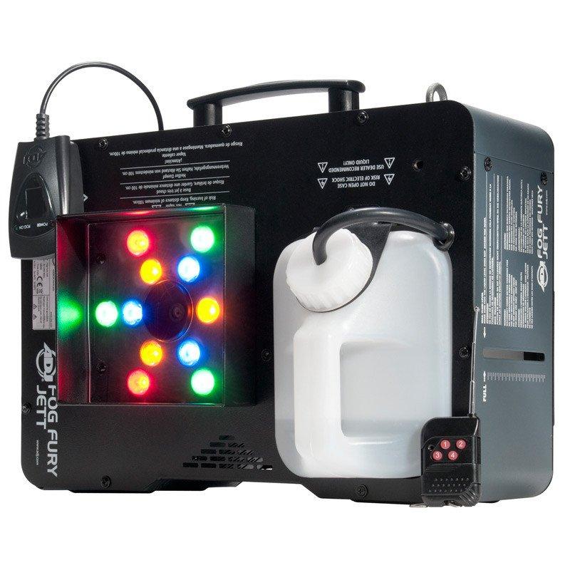 AMERICAN DJ FOG823 FOG FURY JETT FOG MACHINE W/12x3W LED RGBA LEDS