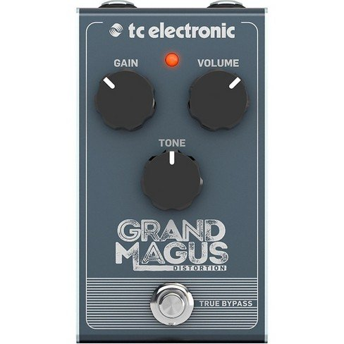 TC Electronic Organic Tube-Like Distortion with Tight Bottom-End and Natural Sag