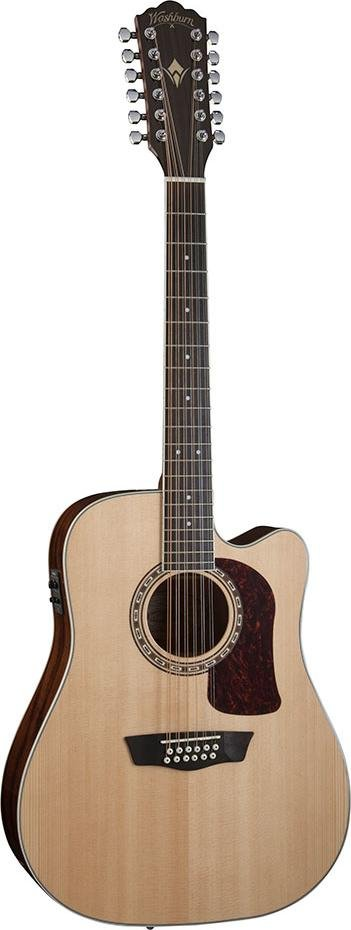 WASHBURN HD10SCE12-O HERITAGE ACOUSTIC-ELECTRIC DREADNOUGHT 12 STRING GUITAR SOLID SPRUCE