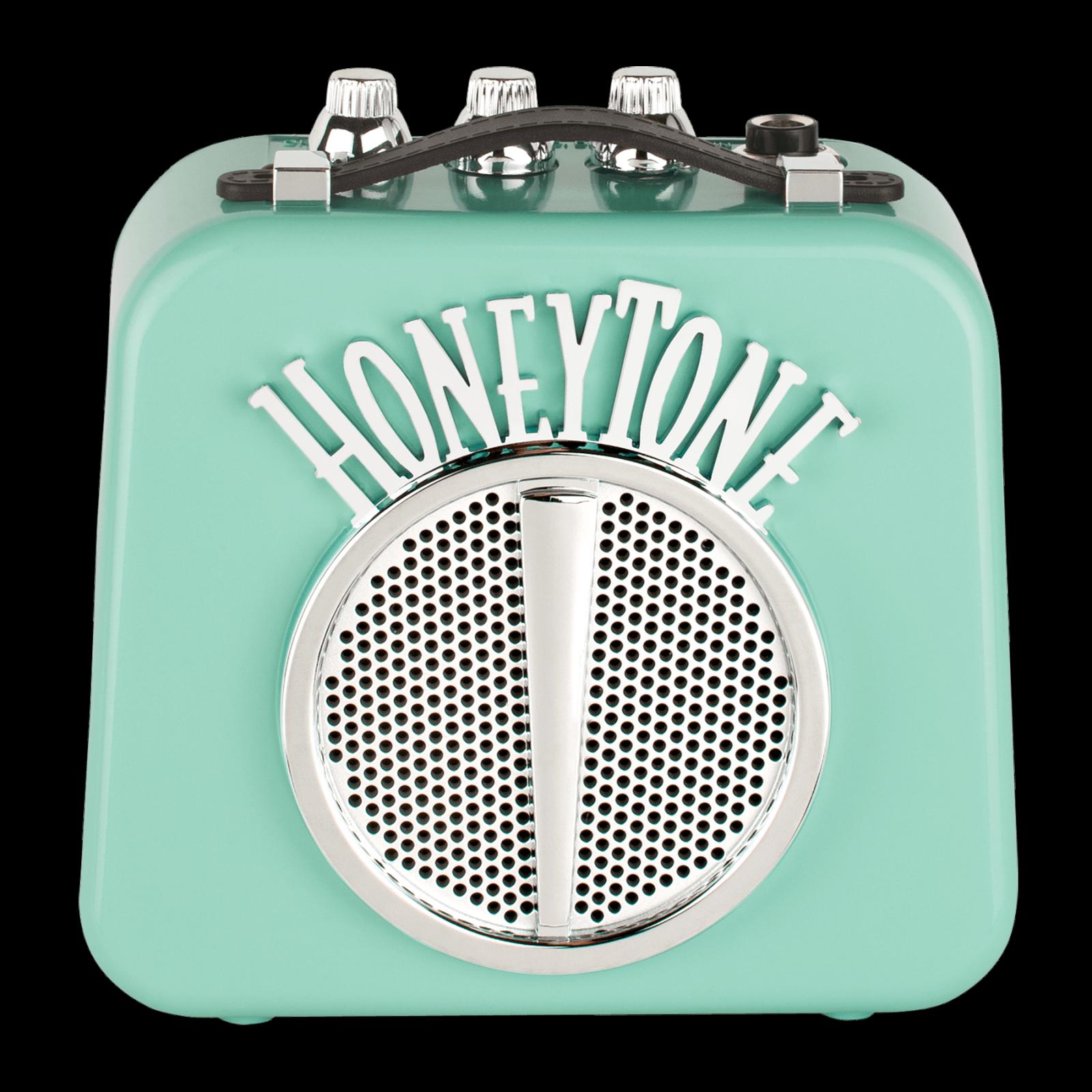 DANELECTRO HONEYTONE N10A MINI GUITAR AMP BATTERY OPERATED AQUA