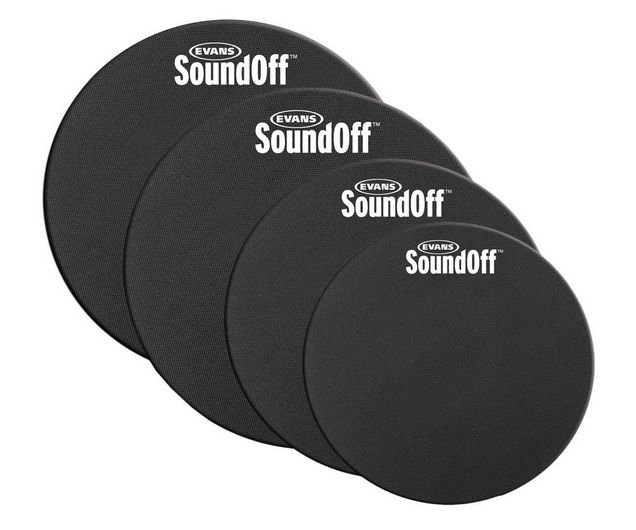 EVANS SO-0244 SOUNDOFF DRUM MUTE PAK 10/12/14/14 FUSION