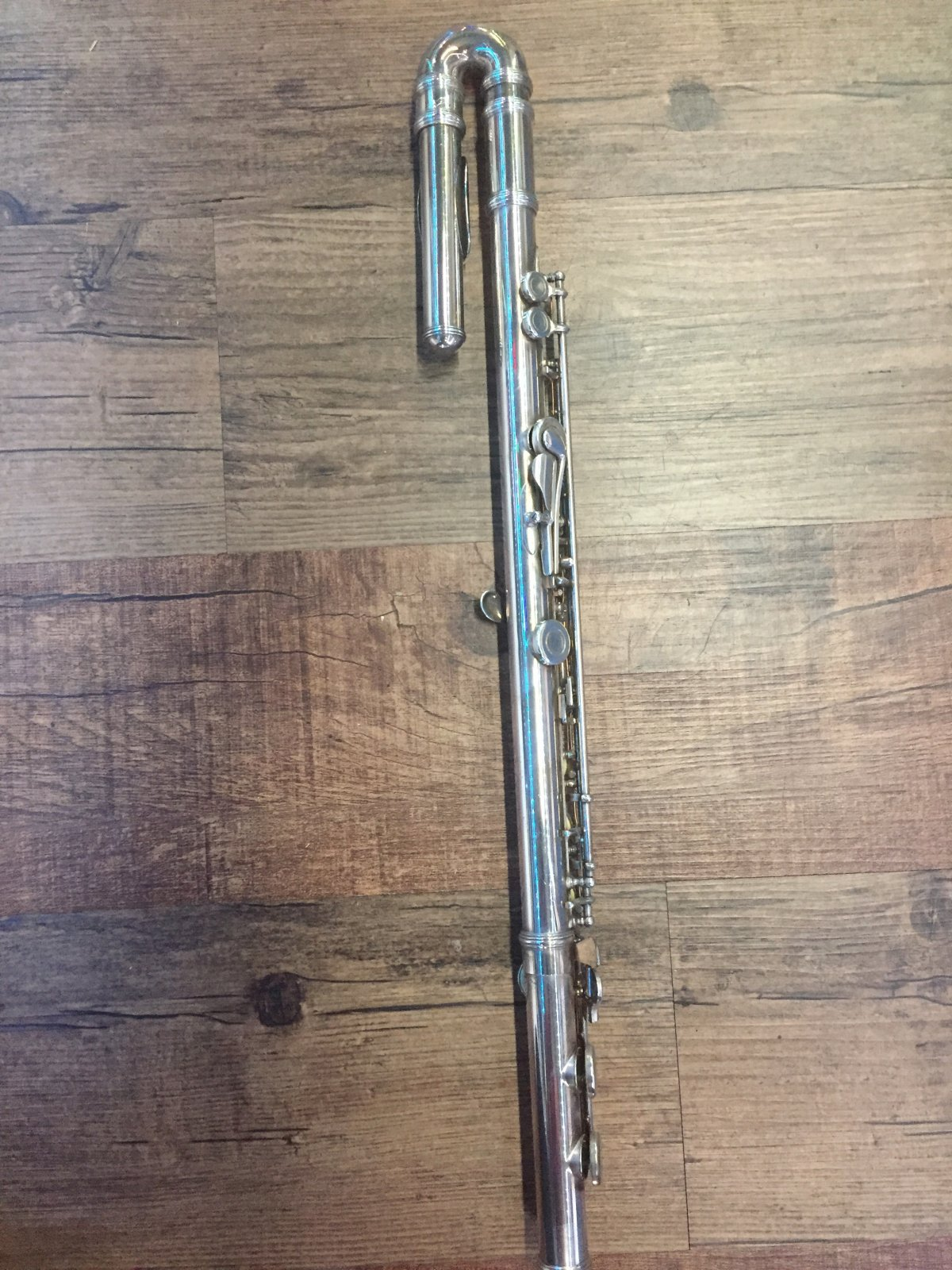ARMSTRONG FLUTE MODEL 104 W/C FOOT SILVER (USED)