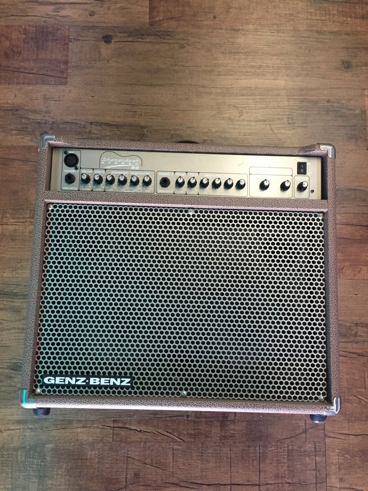 GENZ BENZ SHENANDOAH STEREO 60 ACOUSTIC AMP 60W W/FX (USED)
