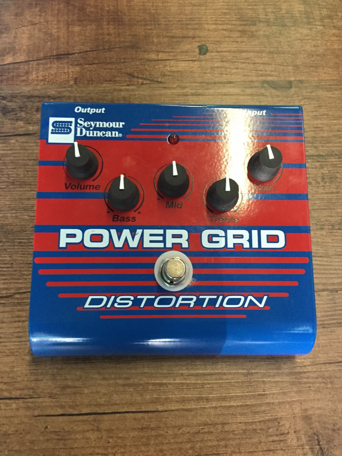 SEYMOUR DUNCAN SFX-08 POWER GRID DISTORTION PEDAL (USED)