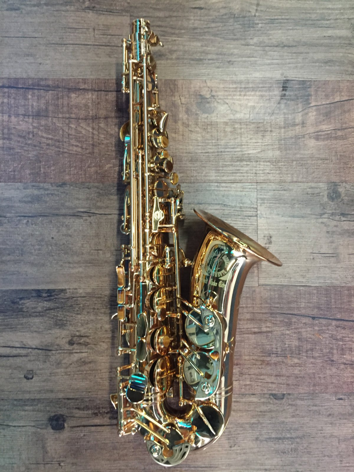 CANNONBALL BIG BELL STONE SERIES Eb ALTO SAXOPHONE LACQUER (USED)