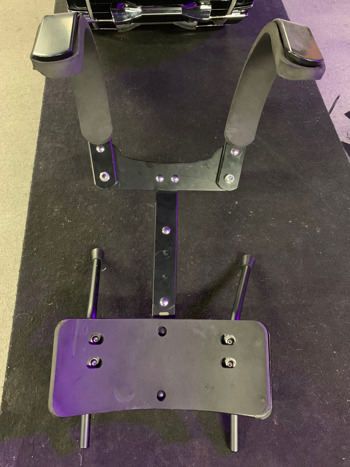 PEARL MARCHING BASS DRUM CARRIER (USED)