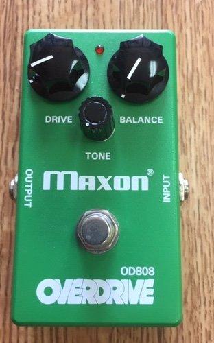 MAXON OD808 GUITAR OVERDRIVE PEDAL (MINT)