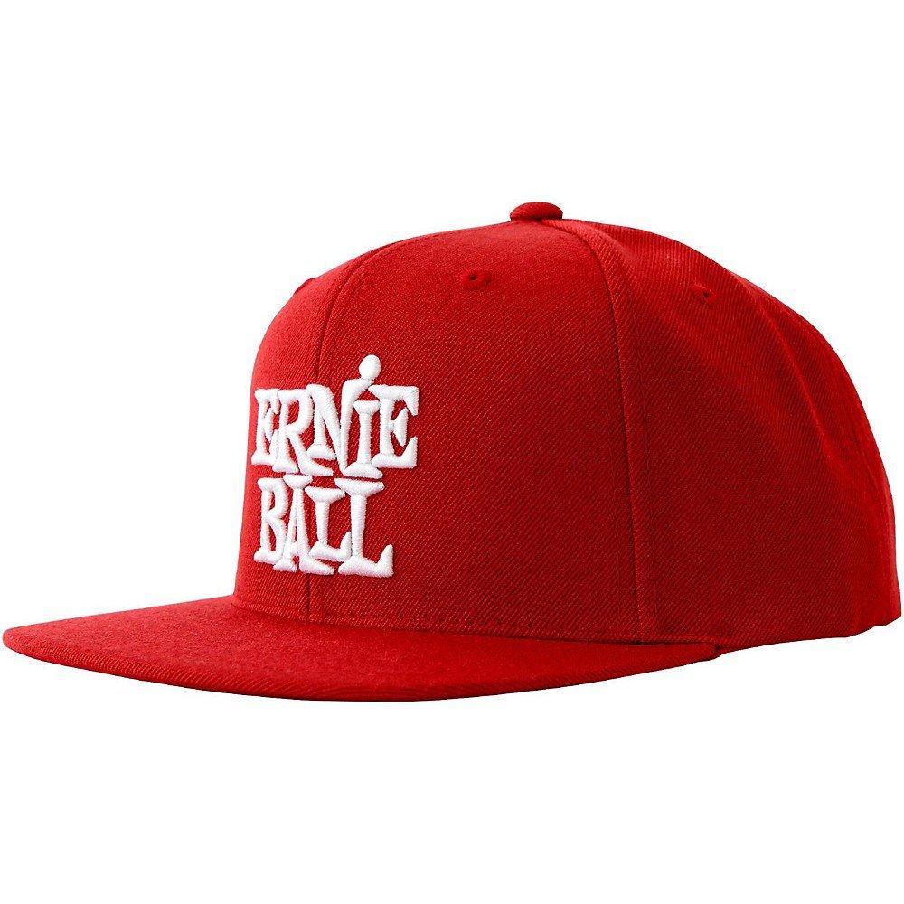 ERNIE BALL P04155 MUSIC MAN RED CAP W/ WHITE ERNIE BALL LOGO