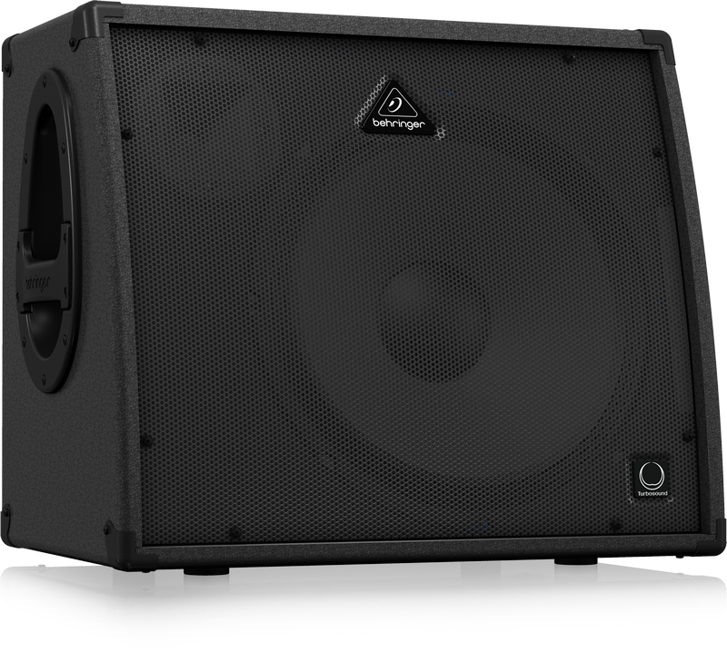 BEHRINGER ULTRATONE KXD15 KEYBOARD AMP 4 CH. 600W 1x15 TURBOSOUND