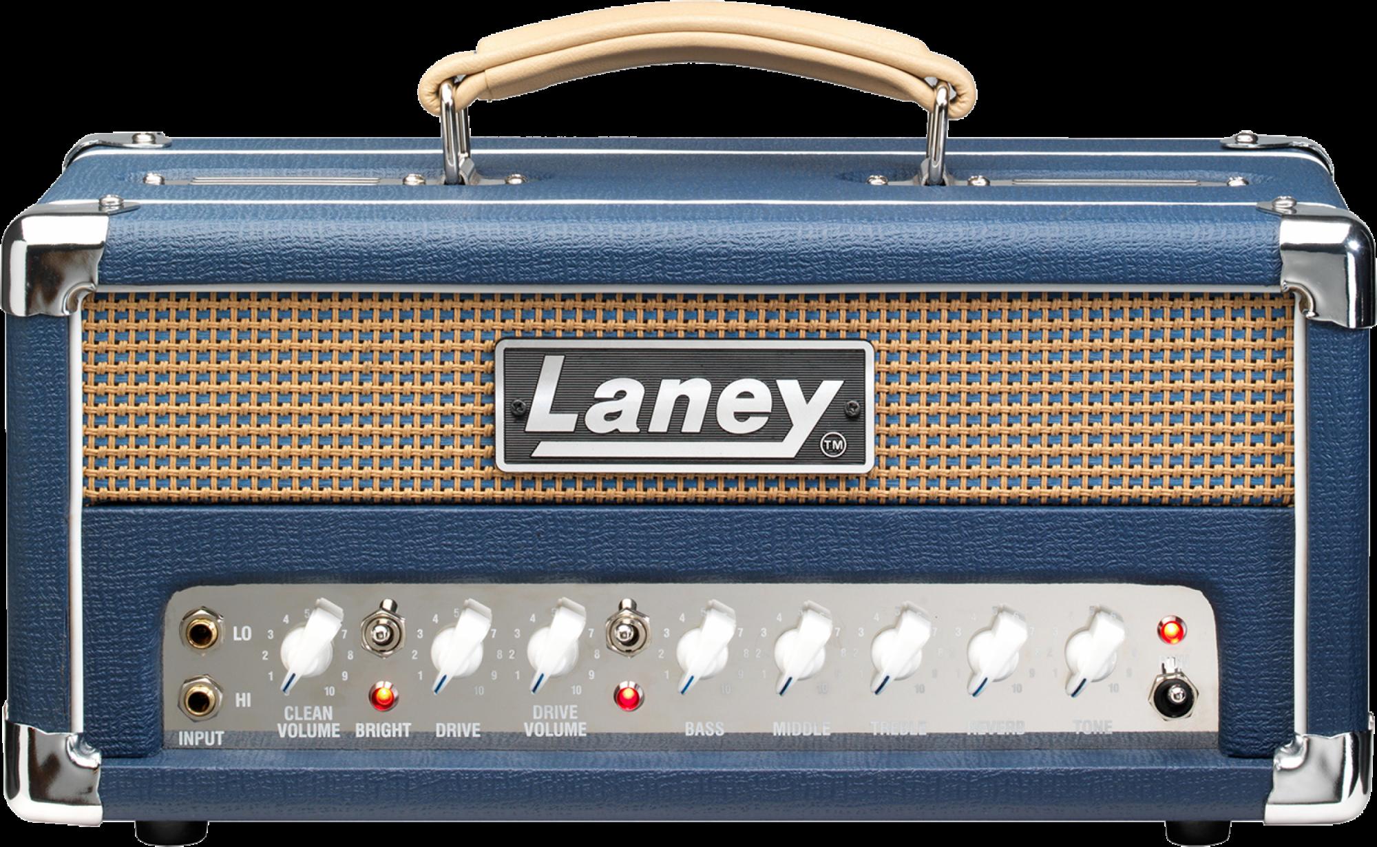 LANEY LIONHEART L5-STUDIO 2 CHANNEL TUBE GUITAR AMPLIFIER HEAD CLASS A , 5W, USB