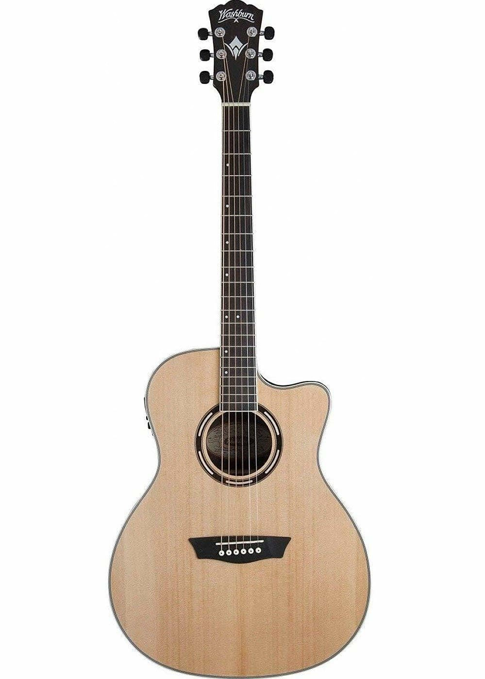 WASHBURN APPRENTICE AG70CEK-A AE GRAND AUDITORIUM GUITAR SPRUCE/WALNUT